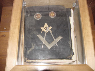 Original Holy Bible, survived the fire.